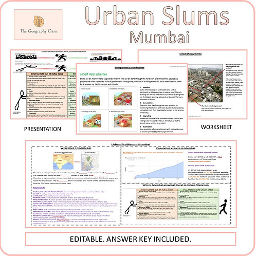 Rapid Urban Growth and Slums: Mumbai