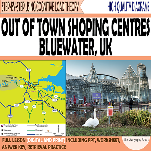 Out of Town Shopping Centres: Bluewater