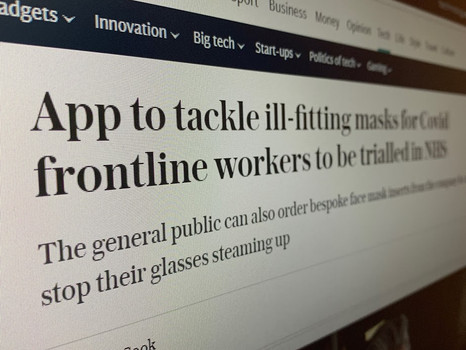 ActiveCell in the news: The Telegraph