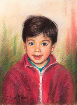 O meu sobriño Martín Méndez-Losada