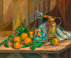 Bodegón de laranxas