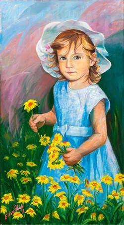 A miña neta Delia