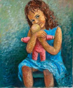 Nena con moneca III