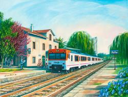 Último tren destino A Coruña