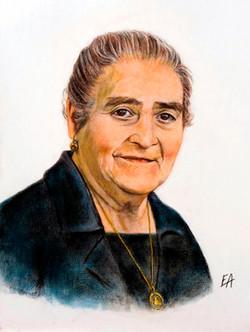 Doña Manuela, A Mestra