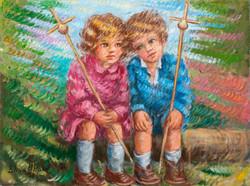 Nenos peregrinos