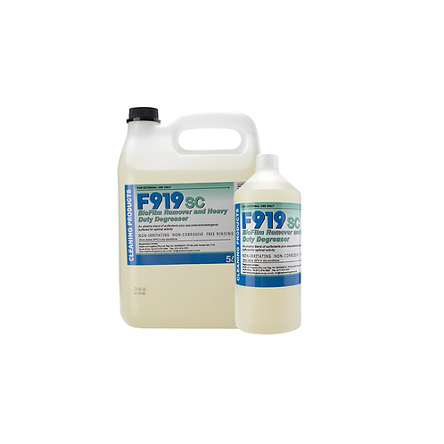 Biofilm Remover and Heavy Duty Degreaser