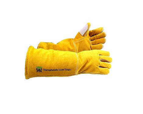 Tomahawk's Bite Guard Gloves Split Grain with Kevlar Lining