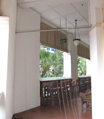 Bird Netting Doorways