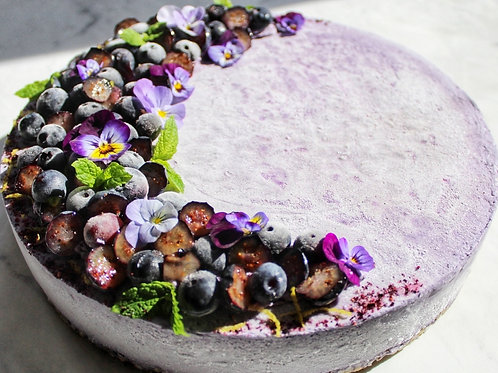 Blueberry & Lemon Cheesecake