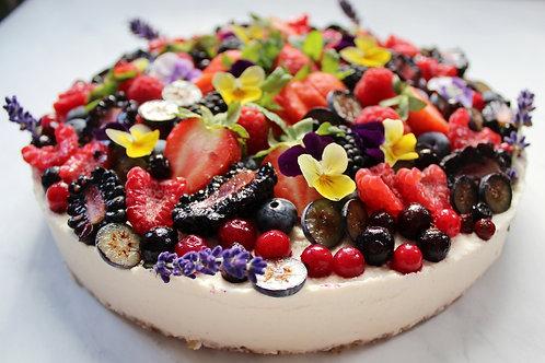 Vanilla Berry Cheesecake