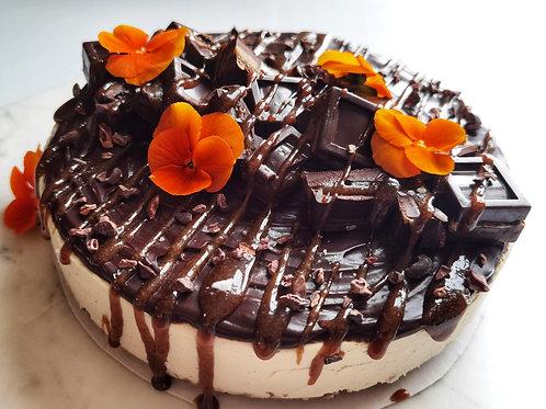 Chocolate Salted Caramel Cheesecake