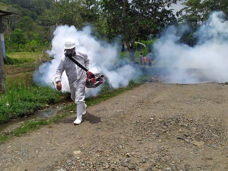 ECSA apoya campaña de fumigación y control de plagas en barrios de Tundayme