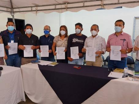 Petroecuador y la comuna El Edén firman acuerdo para levantar el bloqueo en el Bloque 12 Edén–Yuturi
