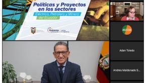 Oportunidades de inversión en el sector energético – minero ecuatoriano fueron promocionadas