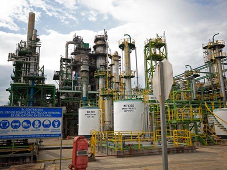 Se realiza paro programado en Refinería Esmeraldas para mantenimiento eléctrico