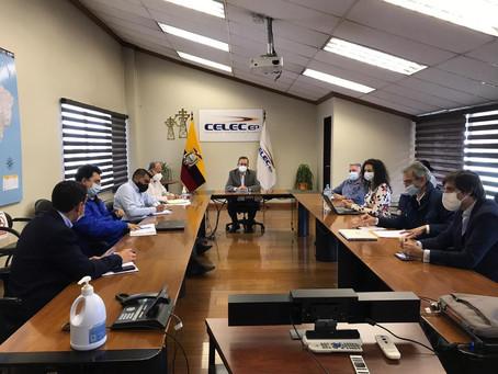 CELEC EP y Solarpackteam coordinan  interconexión entre la central El Aromo y San Juan de Manta