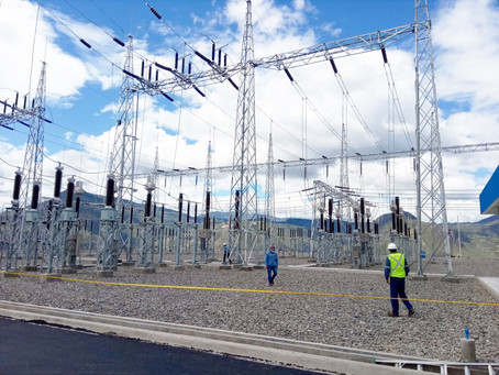 CELEC EP TRANSELECTRIC energizó la subestación Pimampiro, patio de 138 mil voltios