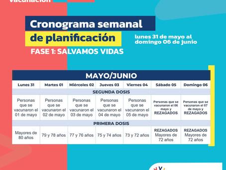 Ecuador inicia Plan de Vacunación 9-100 contra el Covid-19