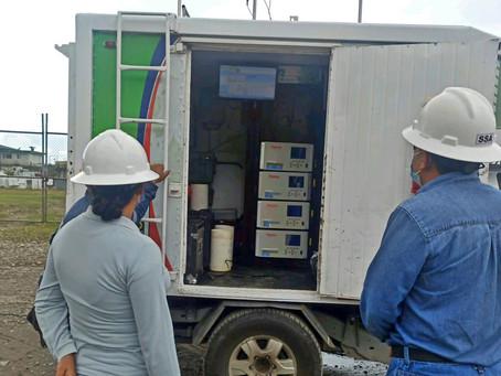 EP Petroecuador realiza monitoreo de calidad de aire y ambiente en Shushufindi