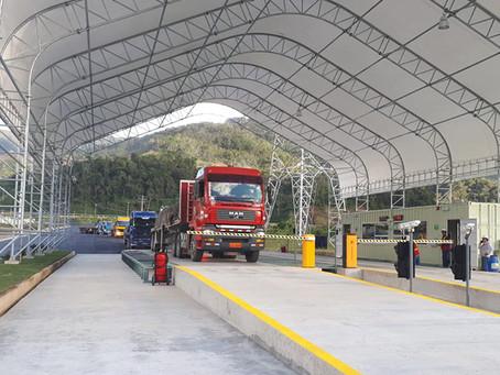 Las primeras 392 toneladas de concentrado de cobre de la mina Mirador fueron transportadas
