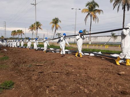 Petroecuador entregó obra de soterramiento de cables eléctricos en tres comunidades de Shushufindi