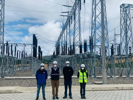 CELEC incorpora la nueva subestación La Paz, a 138 mil voltios, al Sistema Nacional de Transmisión