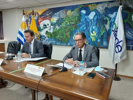 Ministro de Energía participó en la Mesa Bilateral de Energía: Ecuador – Uruguay, OLADE