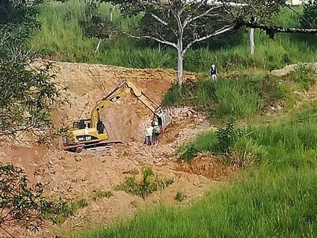 Técnicos del IIGE realizan levantamiento de información geológica y geotécnica en Zaruma