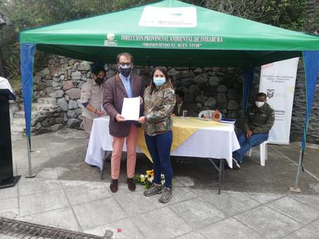 CELEC y Ministerio del Ambiente suscriben convenio para conservación del Parque Cotacachi Cayapas