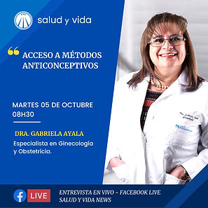 ENT Dra Gabriela Ayala ANTICONCEPTIVOS 5 OCTUBRE 2021 REDES.jfif