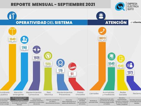 EMPRESA ELÉCTRICA QUITO EMPRENDE VARIAS ACCIONESPARA GARANTIZAR LA OPERATIVIDAD DEL SISTEMA ELEC.