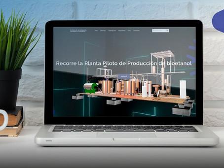 IIGE socializa resultados de proyecto de investigación de biomasa a través de web interactiva