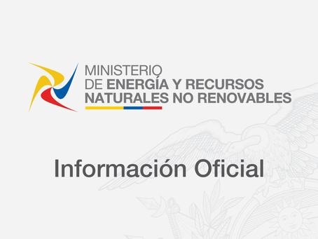 AUTORIDADES DEL SECTOR ELÉCTRICO MANTUVIERON AGENDA DE TRABAJO PARA EVALUAR GESTIÓN