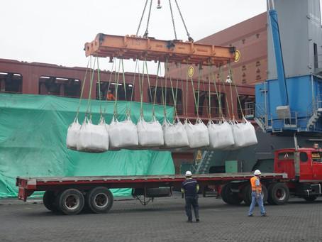 La mina Mirador exportó su primer cargamento de concentrado de cobre