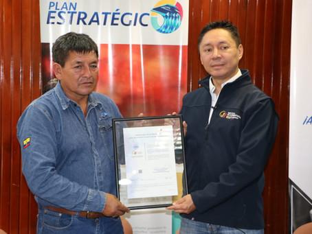 Laboratorio de Terminal El Beaterio de EP Petroecuador renovó la acreditación del SAE