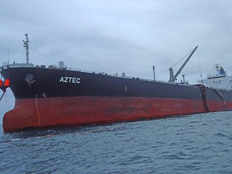 EP FLOPEC cumplirá mantenimiento mayor al buque tanque Aztec