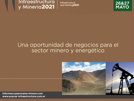 """Conferencias internacionales en el evento de Panorama Minero: """"Infraestructura y Minería 2021"""""""