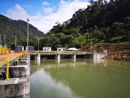 Las pruebas en la captación del río Pilatón del complejo hidroeléctrico Toachi  Pilatón se iniciaron