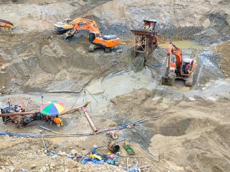 Se suspende concesión minera en El Oro por incumplimiento a la normativa ambiental