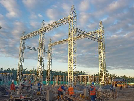 CELEC EP construye nueva subestación para la interconexión eléctrica con el sistema petrolero