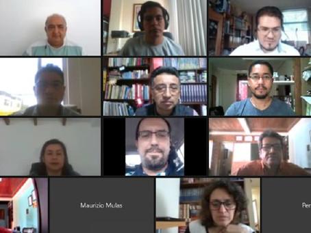 Primera reunión de la Comisión Estratigráfica Ecuatoriana