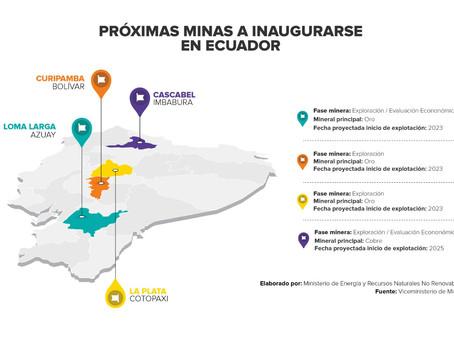 Cuatro proyectos mineros entrarían en producción durante estos cuatro años de Gobierno
