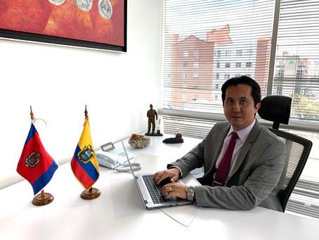 DANILO ENRIQUE ICAZA ORTIZ, NUEVO GERENTE GENERAL DE LA EMPRESA NACIONAL MINERA