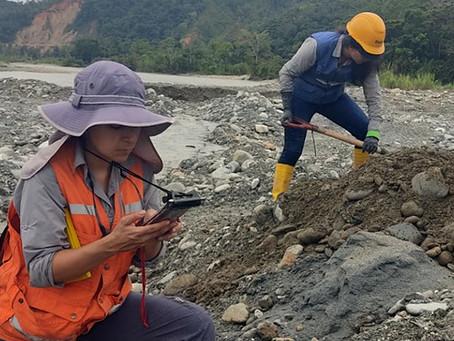 Técnicos del Instituto de Investigación Geológicoy Energético realizan estudios de caso prácticose