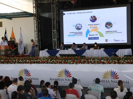 Petroecuador invierte USD 112,4 millones para el desarrollo de 52 ferias inclusivas a nivel nacional