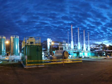La Central Cuyabeno inició la entrega de energía eléctrica al campo petrolero Bloque 58
