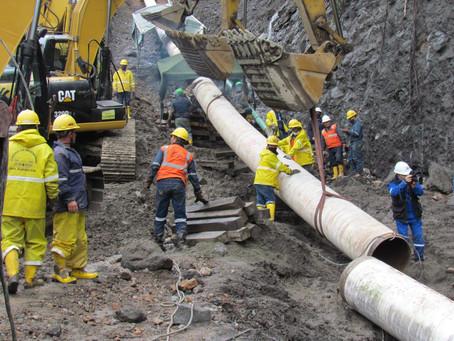 Petroecuador concluyó trabajos de construcción del bypass del SOTE y Poliducto en Napo