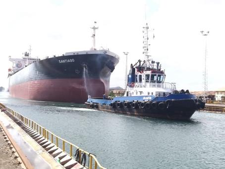 EP FLOPEC, cumplió mantenimiento mayor al buque tanque Santiago