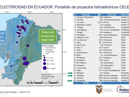 CELEC EP actualizará portafolio de proyectos hidroeléctricos